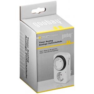Analoogtaimer, 24h, LED-indikaatoriga 230V/ 16A /3500W