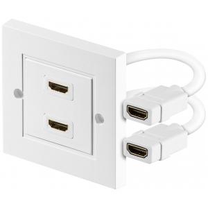 Seinapesa HDMI, 2 porti