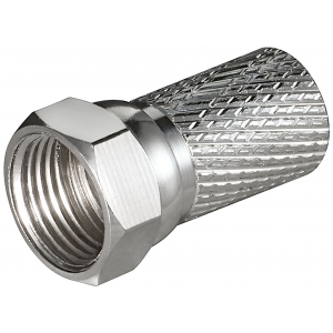 F-pistik keeratav (7mm kaablile)