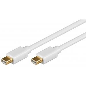 Mini DisplayPort kaabel 2.0m, valge