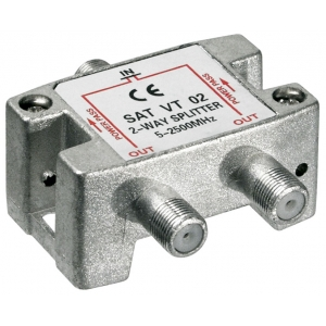 Signaali jagaja (SAT), 5-2450 MHz, 1 sisse - 2 välja
