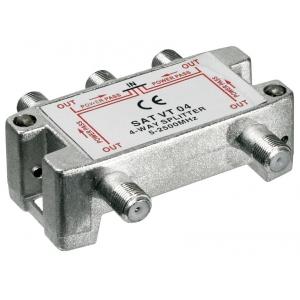 Signaali jagaja (SAT), 5-2450 MHz, 1 sisse - 4 välja