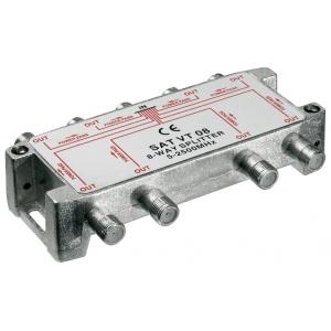 Signaali jagaja (SAT), 5-2450 MHz, 1 sisse - 8 välja