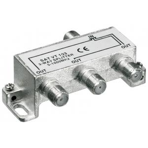Signaali jagaja (TV), 5-1000Mhz, 1 sisse - 3 välja