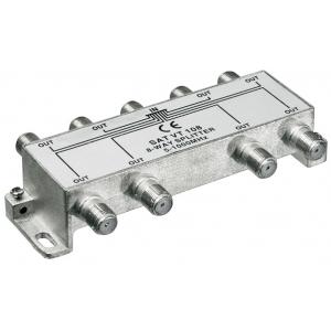 Signaali jagaja (TV), 5-1000Mhz, 1 sisse - 8 välja