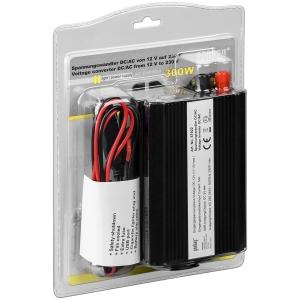 Inverter DC/AC 12V/230VAC 300W + USB 5V