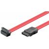 SATA kaabel 0.5m (SATA 1.5/3.0 GByte/s), nurgaga