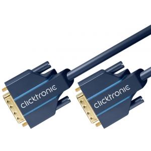 DVI-D Dual Link kaabel 5.0m, kullatud, OFC, topeltvarjega