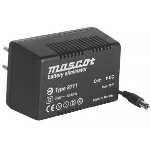 230VAC/15VDC/500mA; 10W,UNREG.
