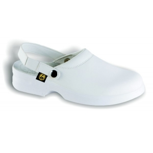 Dissipative Footwear M-CLOG  - WHITE  - 36