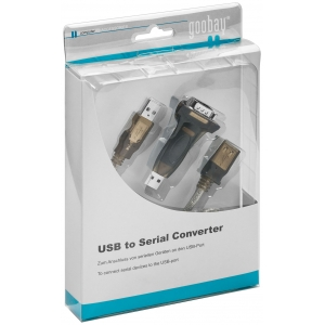 USB > RS-232 konverter, mini, W: 2000, XP, VISTA, 7 tugi