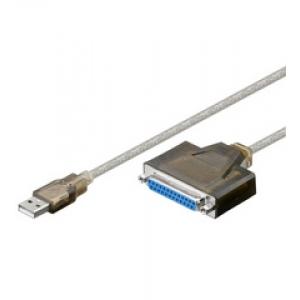 Printeri kaabel konverter USB - Parallel LPT DB25F 1.5m