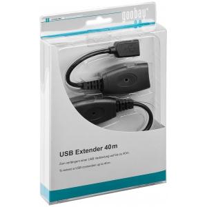 USB 1.1 pikendaja üle CAT5e, kuni 40m
