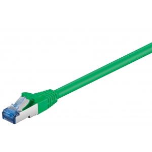 Võrgukaabel Cat6a S/FTP 3.0m, roheline, PiMF, LSZH, CU