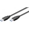 USB 3.0 kaabel A - A 1.8m, must
