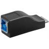 Üleminek USB 3.0 B (F) - Micro B (M)