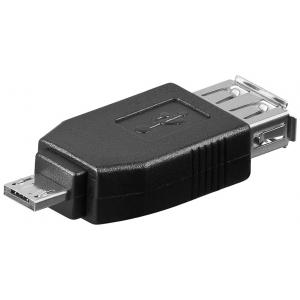 Üleminek USB 2.0 A (F) - Micro A (M)