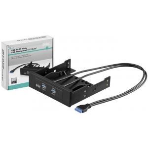USB väljavõtteslott USB 3.0 2x (F) - 20 pin (M) 0.60m