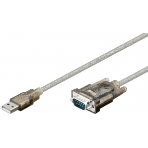 Konverter:USB > RS232 (9 pin), 1.5m