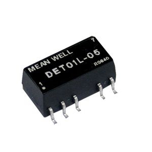 DC-DC Konverter 1W 5V±10%/ ±5V ±0.1A