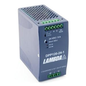 Toiteplokk DIN-latile 48VDC 25A 120W 90-264VAC 63,5x125x