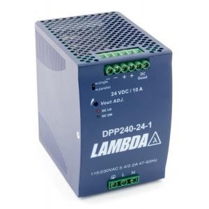 Toiteplokk DIN-latile 24VDC 10A 240W 85-264VAC 83*125*126m
