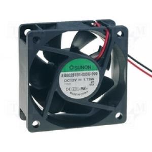 SUNON EB60251B1-000U-999 Ventilaator 12V 60x60x25mm kuullaager