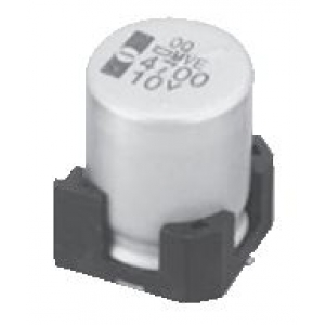 Elektrolüüt kondensaator 10uF 250V 105°C 12.5x16mm SMD