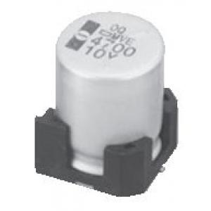 Elektrolüüt kondensaator 100uF 6.3V 105°C 6.3x5.2mm SMD