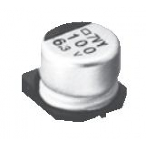Elektrolüüt kondensaator 100uF 63V 105°C 12.5x13.5mm SMD, Low ESR