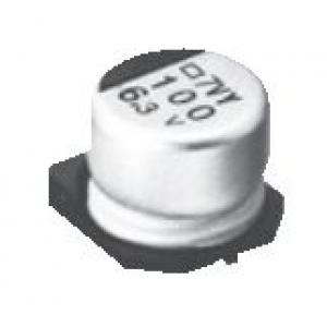 Elektrolüüt kondensaator 100uF 6.3V 105°C 6.3x5.2mm SMD, Low ESR