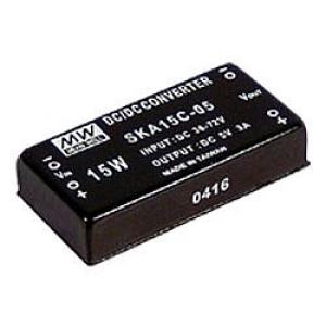 DC-DC Konverter 15W 9~18V/ ±5V ±1.5A