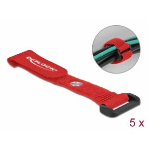 Takjapael regulaatoriga 20mm x 150mm, öösiga, punane, (5.tk)