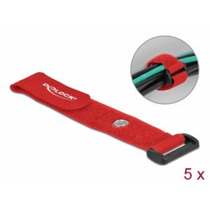 Takjapael regulaatoriga 25mm x 190mm, öösiga, punane, (5.tk)