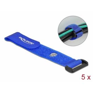 Takjapael regulaatoriga 25mm x 190mm, öösiga, sinine, (5.tk)