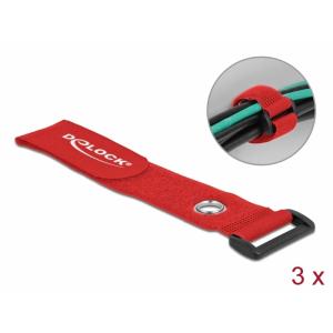 Takjapael regulaatoriga 38mm x 280mm, öösiga, punane, (3.tk)