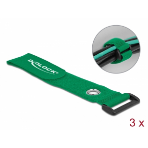 Takjapael regulaatoriga 38mm x 280mm, öösiga, roheline, (3.tk)
