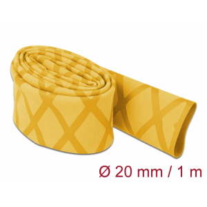 Termorüüs 20/2:1 non-slip 1.0m, X-mustriga, kollane