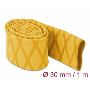 Termorüüs 30/2:1 non-slip 1.0m, X-mustriga, kollane
