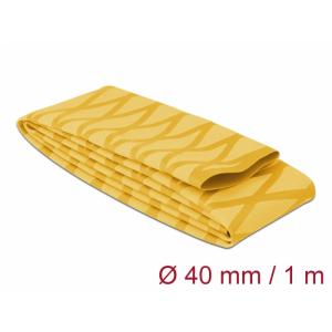Termorüüs 40/2:1 non-slip 1.0m, X-mustriga, kollane