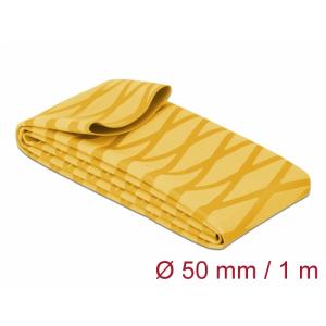 Termorüüs 50/2:1 non-slip 1.0m, X-mustriga, kollane