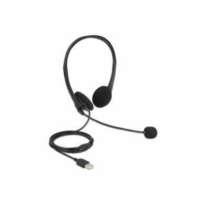 Kõrvaklapid mikrofoniga, USB 2.0-A