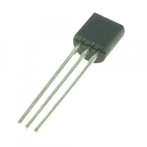 Transistor bipolar 2N5401G PNP  600 mA, 150 V, 3-Pin TO-92