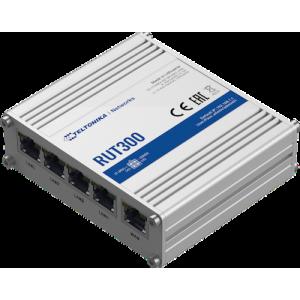 Tööstuslik Ethernet Ruuter, 5 x10/100BaseT, -40 C kuni 75 C