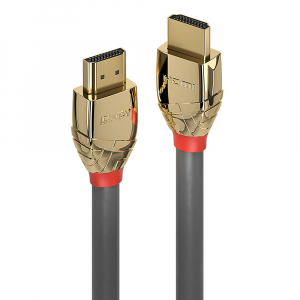 HDMI kaabel 1.0m, Ethernet, 10K 10240x4320@120Hz, GOLD