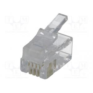 Modularpistik RJ9 Cat3 4/4kontaktiga -telefonitorule