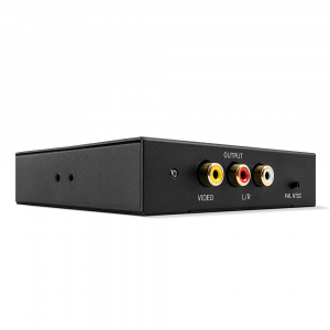 Konverter HDMI (F) - Composite / RCA Stereo Audio, must