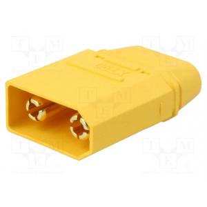 XT90 DC konnektor, isa, kaablile joodetav