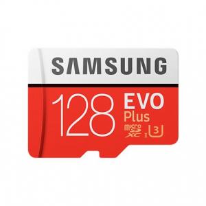Mälukaart 128GB micro SD EVO Plus Class10, SAMSUNG