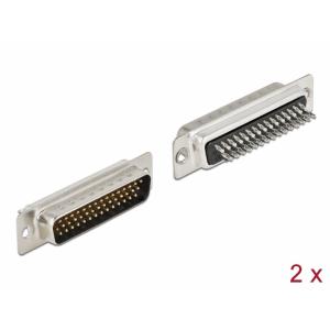 D-Sub HD 44 pin (M), joodetav, 2tk/pakk